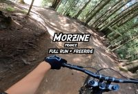 Morzine - DH black trail + freeride - Full Run