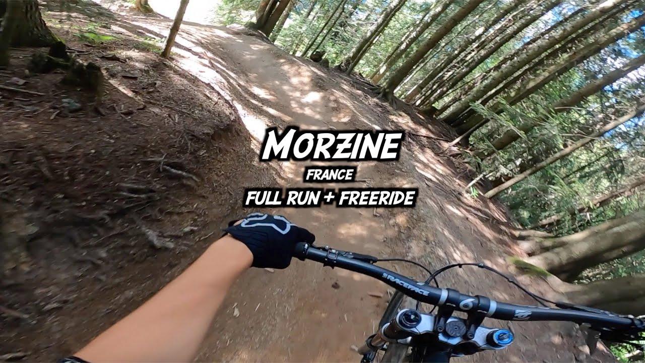 Morzine - DH black trail + freeride - Full Run