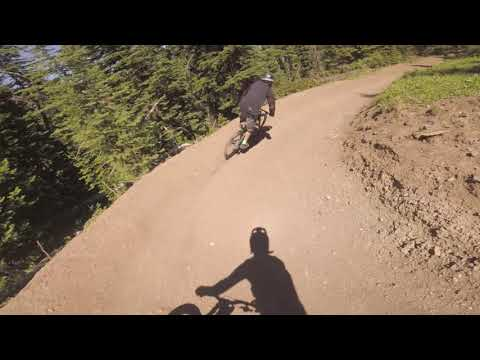 NEW TRAIL - Big Sky Resort - Mountain Bike Park - Happy Hooves - POV - July 2020