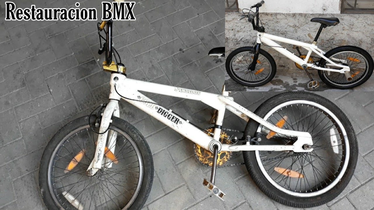 RESTAURO MI BICICLETA BMX 🚲[RESTORATION BIKE BMX]
