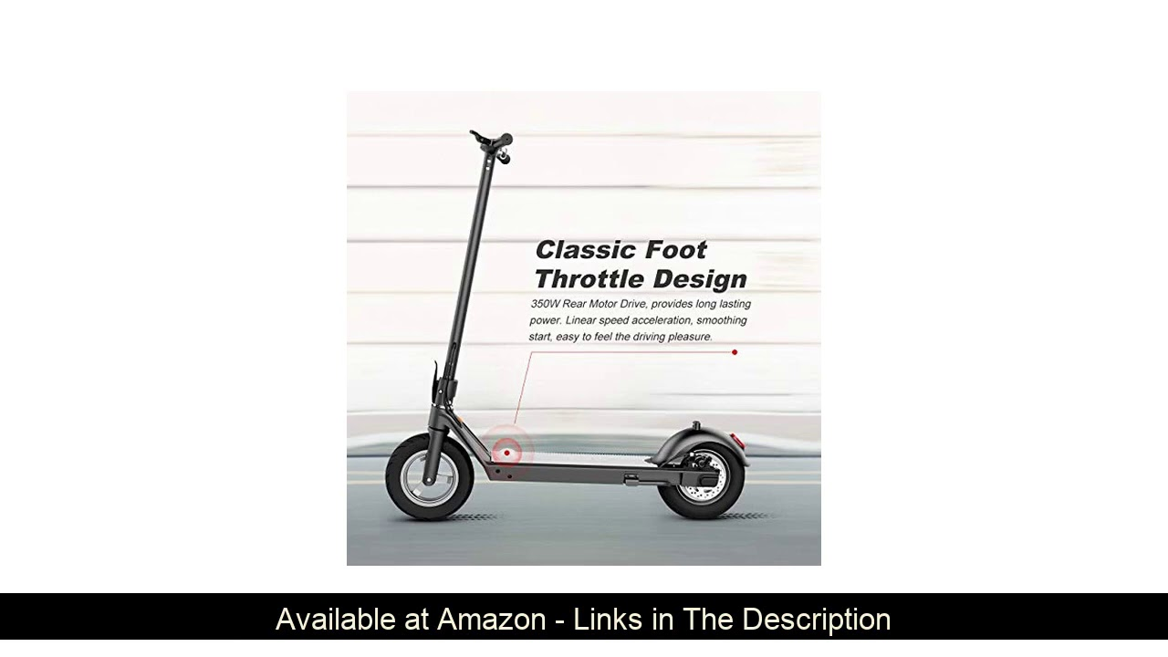 ☘️ RND F16 10.5 Inch Electric Scooter for Adults Folding Electric Scooter with Foot Control Acceler