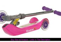 ☀️ Razor Jr. Folding Kiddie Kick Scooter - Pink