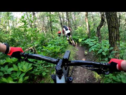 This guy rode 80+KM on a MOUNTAIN BIKE - Trail Riding in The Brandon Hills / Trek Remedy