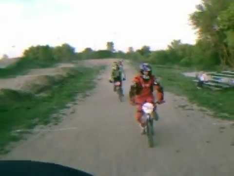 USA bmx racing  6/8/12  The Hill track Elgin IL onboard video camera
