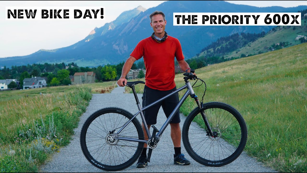 We Created My Dream Bike! The Priority 600x Mountain Bike with Pinion and Gates