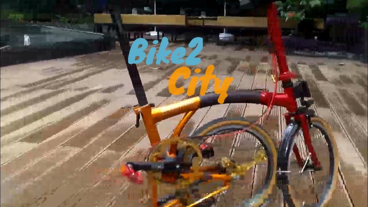 """Premium"" Bike folding bike - upgrade dengkul. Solo Ride"