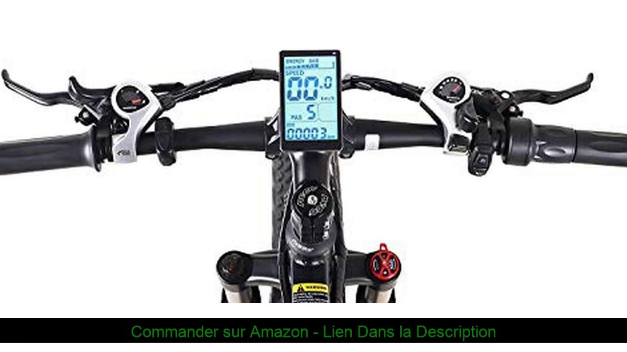 ☀️ 1000W Electric Bike Mountain Ebike 21 Vitesses 26 Pouces Fat Tire Vélo De Route Plage/Neige Vélo