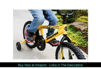 "☄️ Dynacraft Magna Major Damage Boys BMX Street/Dirt Bike 16"", Yellow/Black"