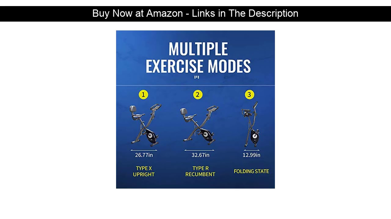 ☄️ leikefitness LEIKE X Bike Ultra-Quiet Folding Exercise Bike, Magnetic Upright Bicycle with Heart