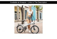 ☀️ ANCHEER Folding Electric Bike Ebike, 20'' Electric Bicycle with 36V 8Ah Removable Lithium-Ion Ba