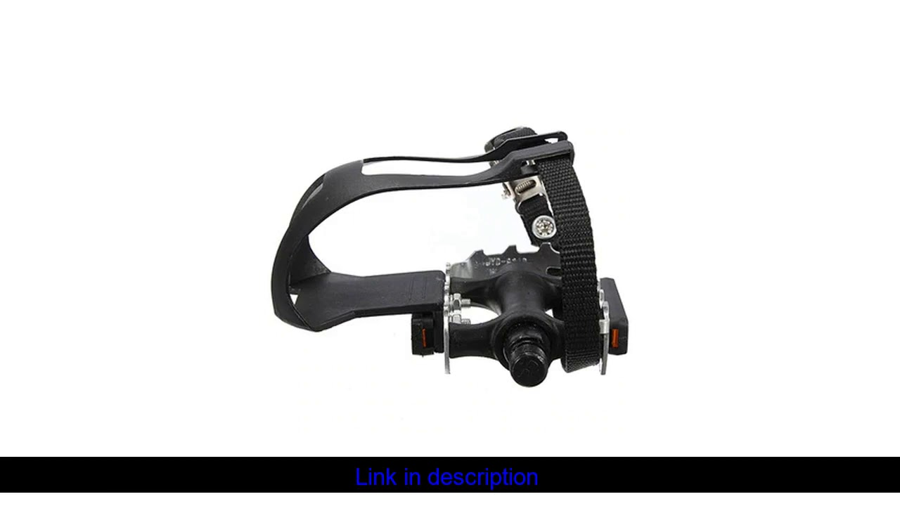 2 x Ultra Light MTBbicycle mountain bike loop pedal pedal hook with basket strap + pedals accesorio