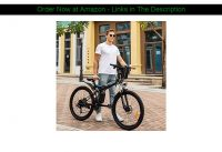 ❎ 26'' Folding Electric Mountain Bike, Electric Bike with 36V 8Ah Lithium-Ion Battery, Premium Full
