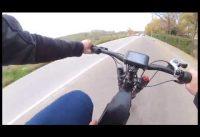 72V 3000W Enduro Frame Electric Bike with Sunringle Rim DNM USD 8 DNM Downhill Mountain eBike Air Su