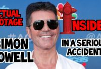 ACTUAL FOOTAGE OF SIMON COWELL'S ACCIDENT