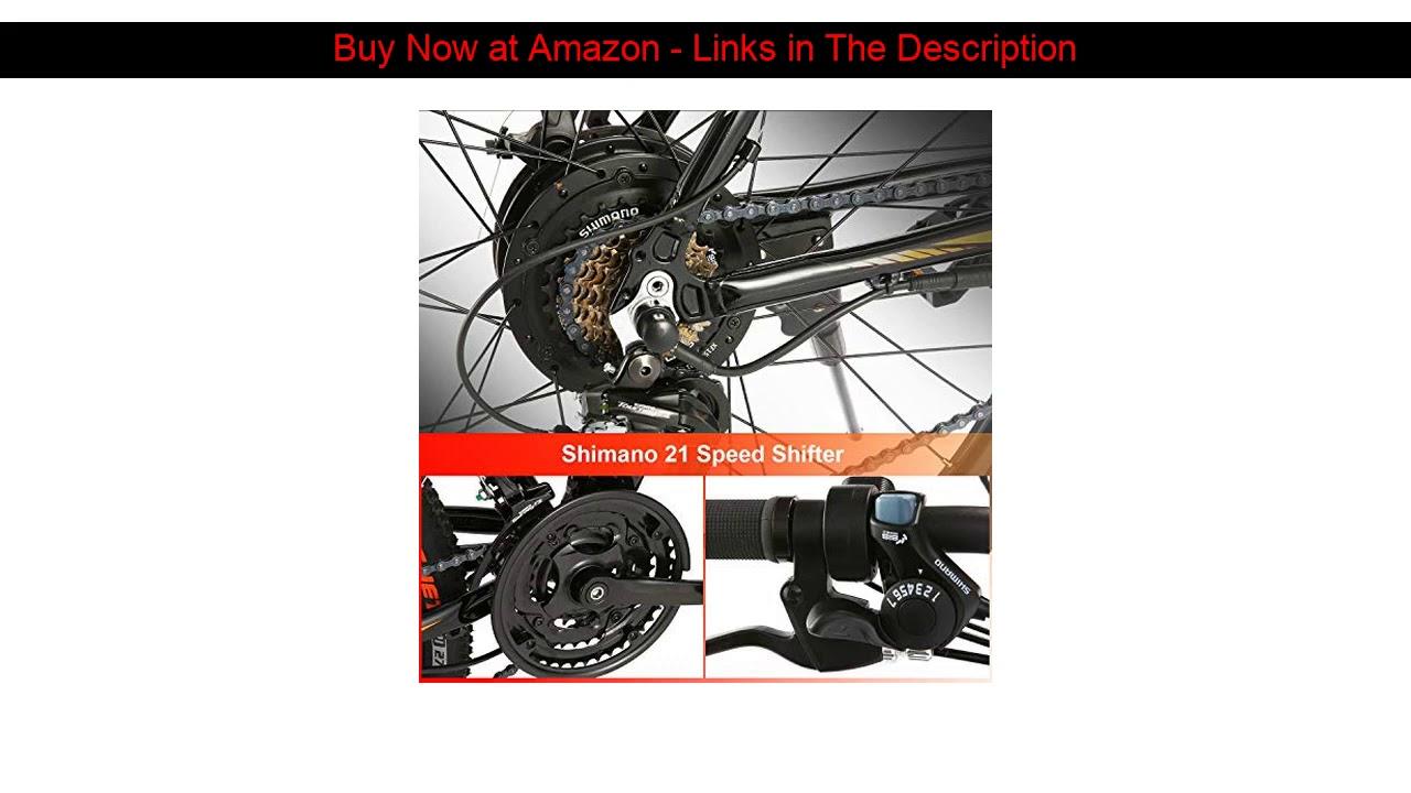 ☀️ ANCHEER Electric Bike Electric Mountain Bike 350W Ebike 26'' Electric Bicycle, Newest 20MPH Adul