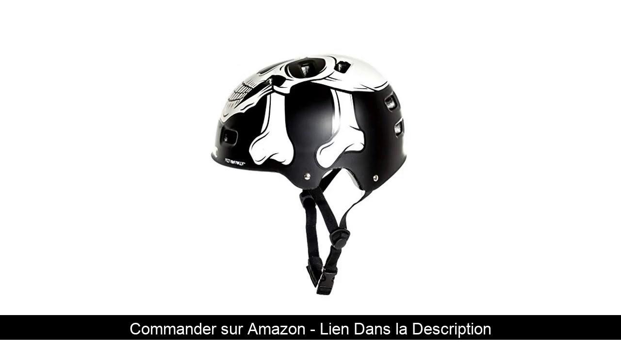 ⚡️ AWE Meet Your Maker BMX Casque Noir 55-59cm Remplacement Gratuit DE 5 Ans DE Crash *