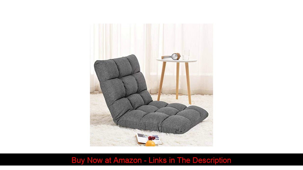 ✨ Adjustable Floor Chair with Back Support Folding Floor Sofa Lounge Chair for Adults Video Gaming