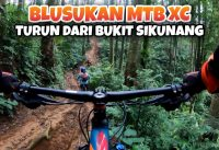 BLUSUKAN MTB XC - Turun Dari Bukit Sikunang Banjarnegara