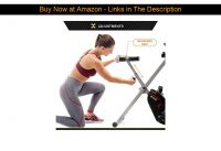 ❄️ CIRCUIT FITNESS Circuit Fitness Folding Upright Exercise Bike with Adjustable Resistance 250 lb.