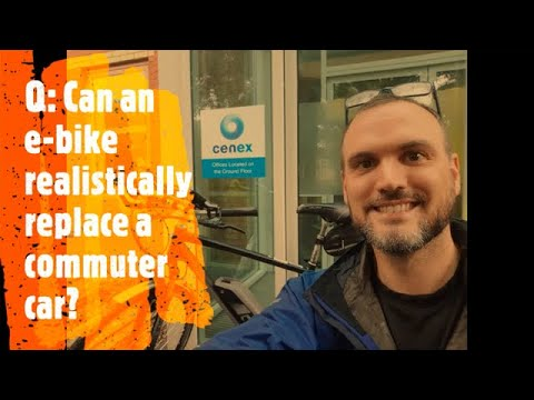 Can an ebike replace a commuter car?