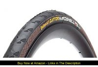☀️ Continental Gator Hardshell Urban Bicycle Tire with Duraskin (700x25, Folding)