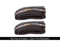 ✨ Continental Grand Prix 4-Season 700x25 Folding Clincher Tire 2-Pack