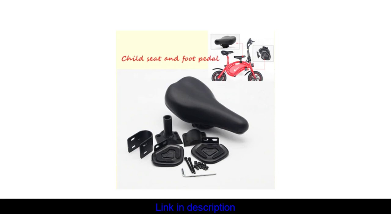 DYU D1 Smart folding bike child seat pedal Free shipping in some areas