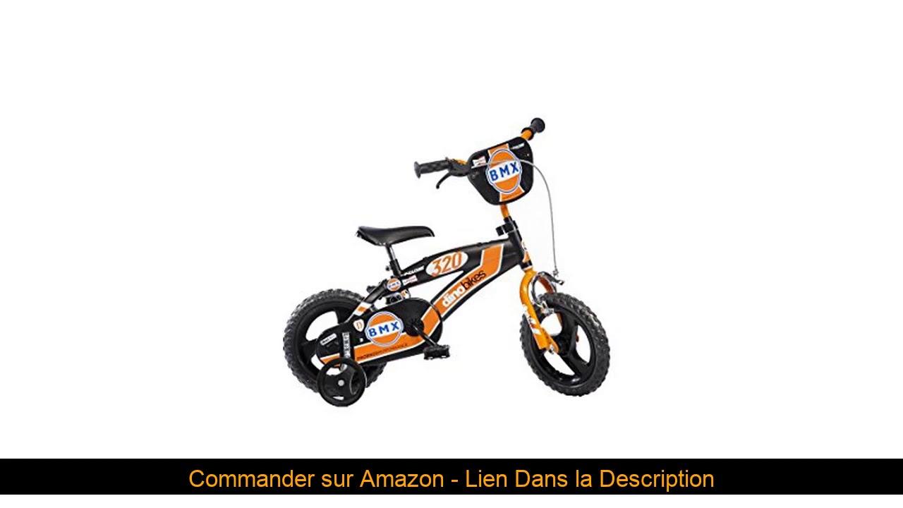⭐️ Dino Bikes BMX Garçon Marque Dinobikes 12 Pouces de 3 à 5 Ans, 125XL