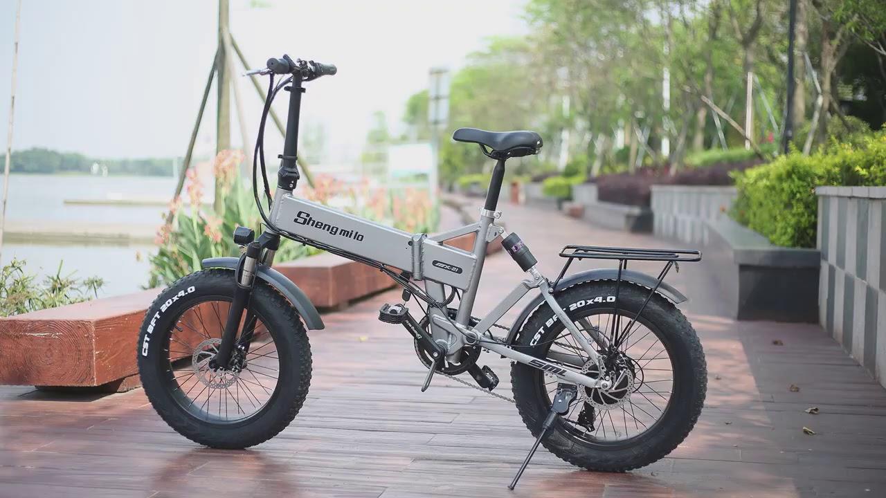 Ebike Electric bike 500W electric fat bike beach bike cruiser electric bicycle 48v12 8ah lithium bat