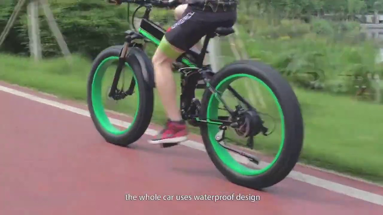 Electric bicycle 1000W Electric Beach Bike 4 0 Fat Tire Electric Bike 48V Mens Mountain Bike Snow E