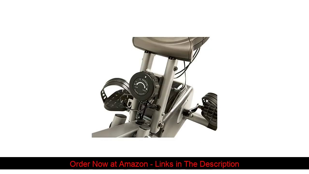 ☘️ Exerpeutic 400XL Folding Recumbent Bike with Performance Monitor