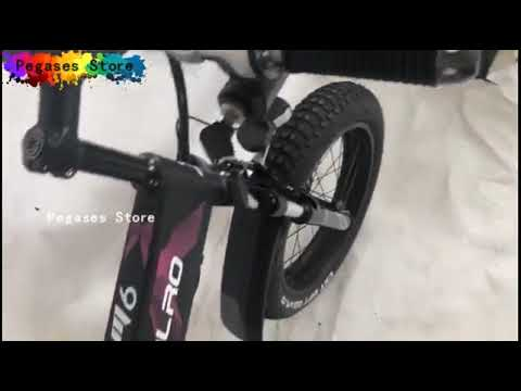 Folding Electric Bike 500W Motor 48V 10Ah Removable Lithium Ion Battery 20 inch Ebike 7 Speed Gears