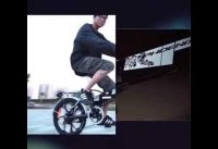 Folding electric bicycle lithium battery instead of battery car small electric scooter Electric