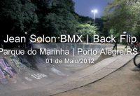 Jean Solon BMX | Back Flip