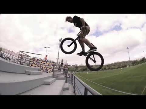 Jumping Bike BMX Bicycle Race Stunt People Dirt Bike Jumping