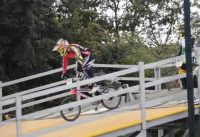 Miguel Calixto 785 Time Trial XII Torneo Nacional de BMX. Pista Mario Soto. Bogota, Colombia 2015