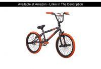 "☄️ Mongoose 2019 20"" Outerlimit BMX Bike, Dark Grey/Orange"