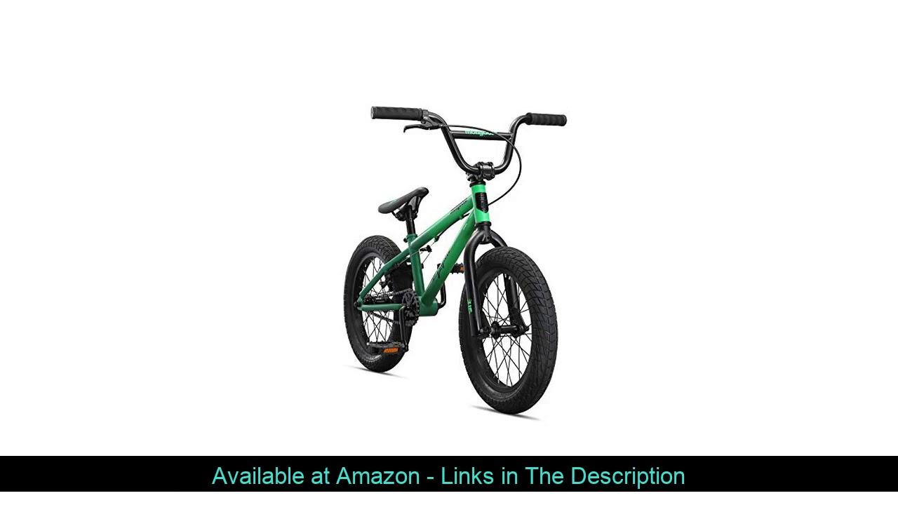 ☀️ Mongoose Legion L16 Freestyle Sidewalk BMX Bike for-Kids,-Children and Beginner-Level to Advance
