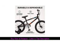 ✅ Mongoose Switch BMX Bike for Kids, 18-Inch Wheels, Includes Removable Training Wheels