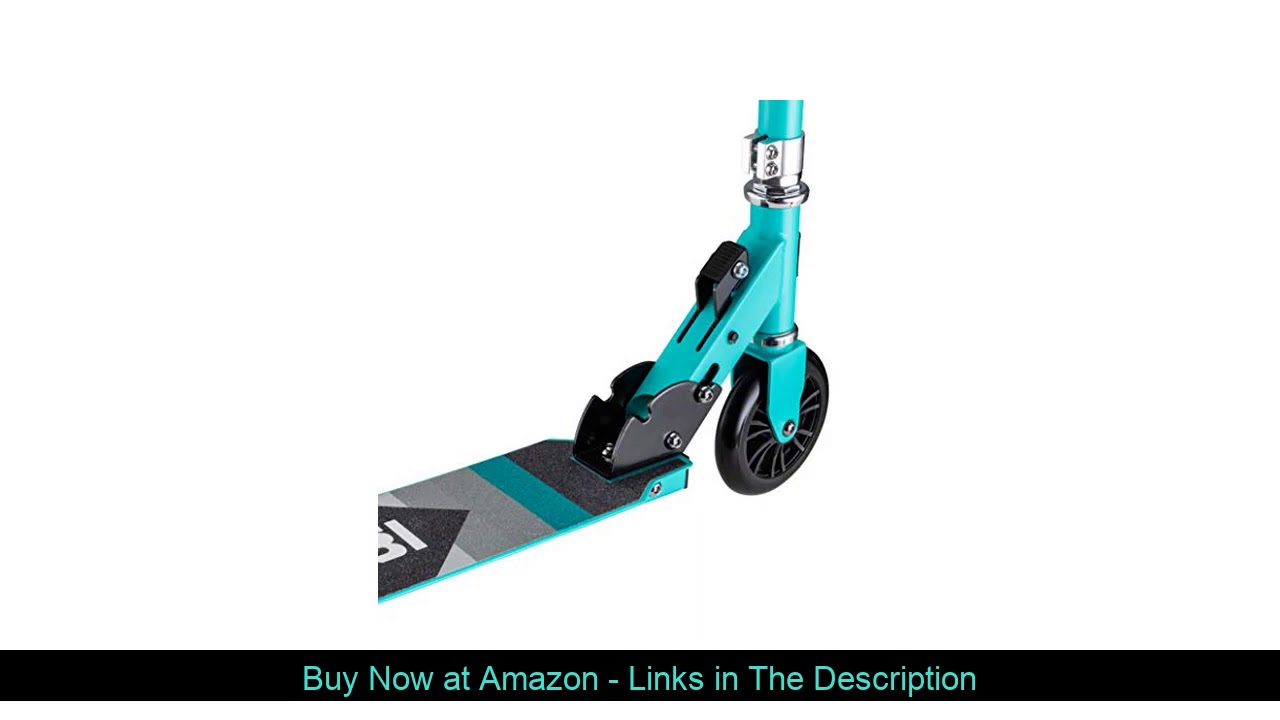 ☘️ Mongoose Trace Youth/Adult Kick Scooter Folding and Non-Folding Design, Regular, Lighted, and Ai
