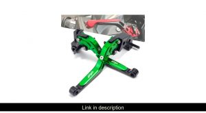 Motorcycle CNC Folding Extendable Brake Clutch Levers For KAWASAKI NINJA 300 300R 250R Z300 Z250SL