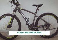 Mountain Bike Cleaning