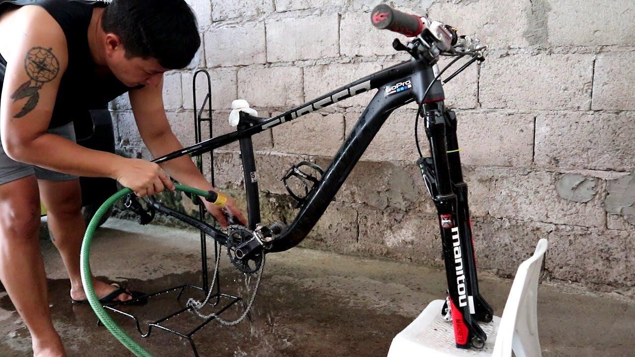 Mountain Bike Maintenance: How I Wash My Mountain Bike | HUGAS ng Bike