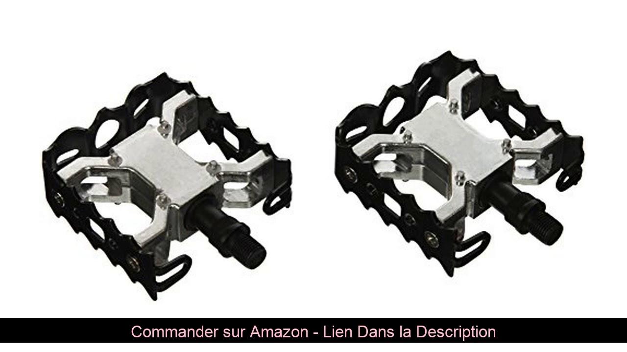 ⚡️ Paire pédales BMX-Freestyle filetage aluminium et acier W-1/2