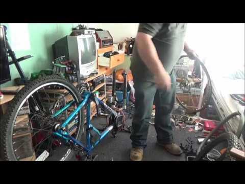 Personalizing My New Claud Mountain Bike