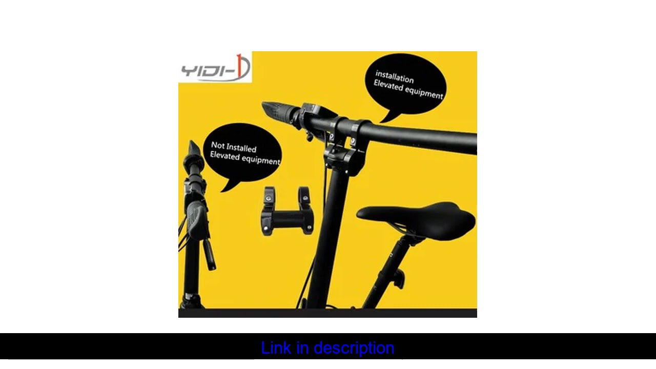 QICYCLE EF1 electric folding bike raised the height of the handle can be raised forward