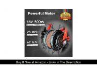 ☄️ Rattan Fat Tire Folding Electric Bike 500W 48V 13AH LCD Display Women's Step-Through 3.0 Fat Tir