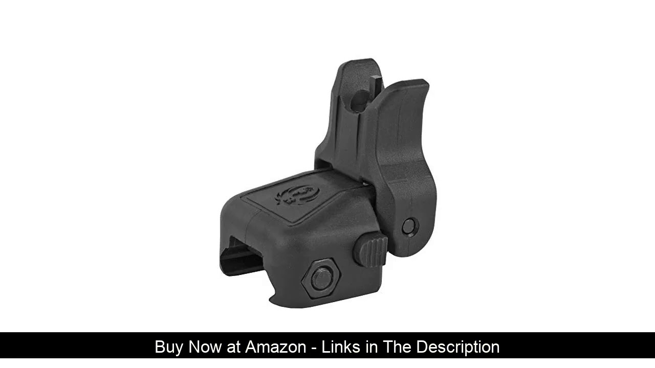 ❎ Ruger 90414 Rapid Deploy Front Rail Mounted Polymer Folding Sight
