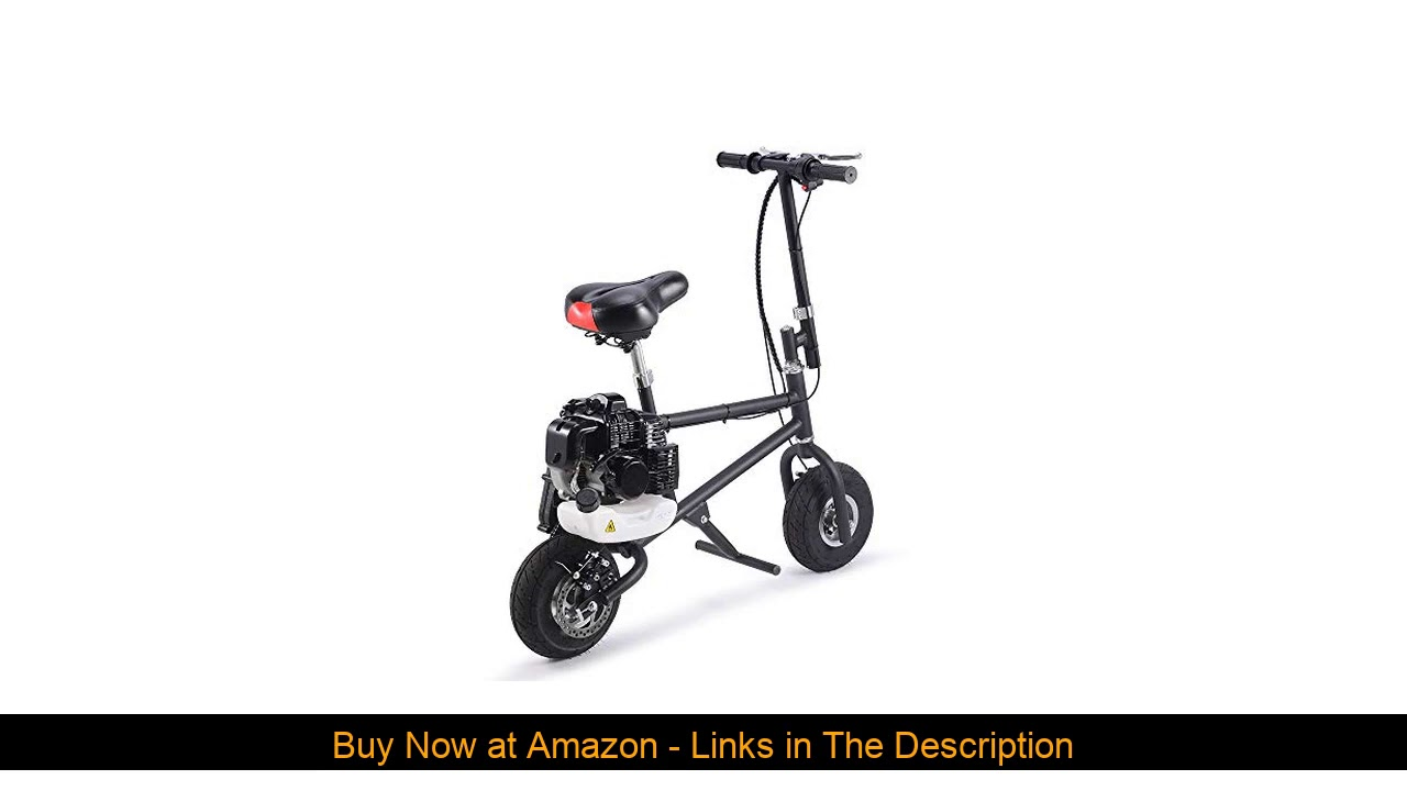 ☄️ SAY YEAH Gas Bike 49cc 2-Stroke Petrol Motorized Mini Scooter, Adult Super Folding Bicycle, Gas