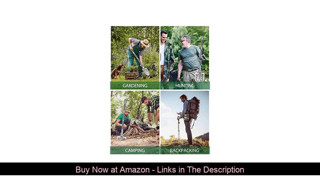 ❎ Sahara Sailor Survival Shovel, Unbreakable Tactical Shovel-180 Degree Folding Shovel-Camping Shov
